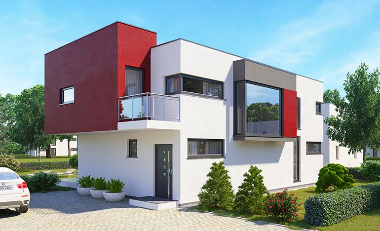 Dein massivhaus in dresden - Architektur kubus ...
